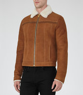 Reiss Phoenix Shearling Jacket