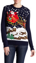 Cotton Emporium Light Up Santa Sweater