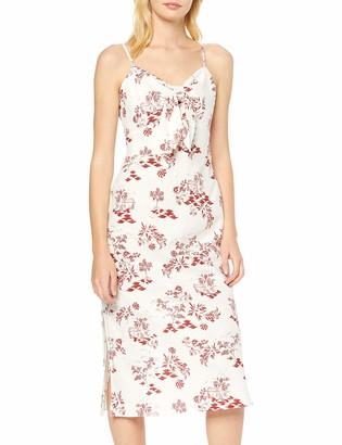 New Look Women's Ec Ruby Toile Tie Frnt Midi (6248844) Dress