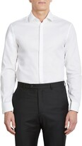 John Varvatos Slim Fit Stretch Solid Tuxedo Shirt