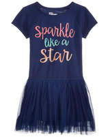 Epic Threads Sparkle Like A Star Graphic-Print Dress, Toddler and Little Girls (2T-6X), Created for Macy's