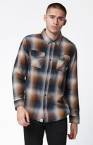 Vans Conroy Plaid Flannel Long Sleeve Button Up Shirt