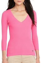 Lauren Ralph Lauren Ribbed Cotton Sweater