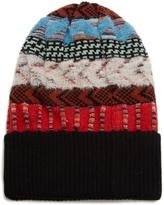 Missoni Contrast intarsia-knit wool-blend beanie