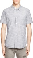 AG Jeans Chambray Jacquard Regular Fit Button Down Shirt