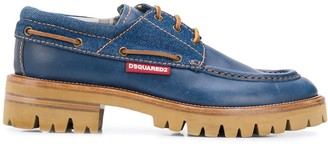 DSQUARED2 Lace-Up Chunky Sole Shoes