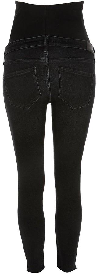 River Island Maternity Over Bump Amelie Skinny Jeans - Black