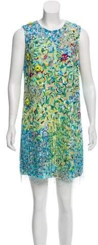 Andrew Gn Embellished Shift Dress