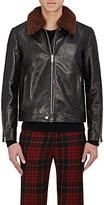 Alexander McQueen MEN'S LEATHER JACKET
