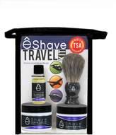 eShave TSA Lavender Travel Shaving Kit