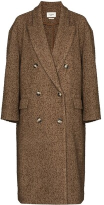 Etoile Isabel Marant Ojima double-breasted long coat