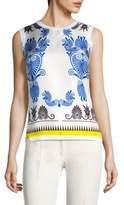 Versace Silk Knit Pullover