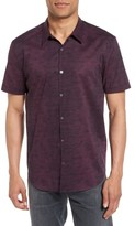 John Varvatos Men's Dot Print Trim Fit Sport Shirt