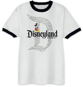 Disney Mickey Mouse with Disneyland Logo Tee for Adults - Ringer