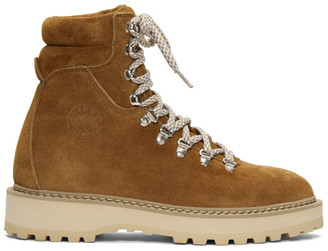 Diemme Brown Suede Monfumo Boots