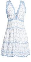 Jonathan Simkhai Cotton Embroidered Dress