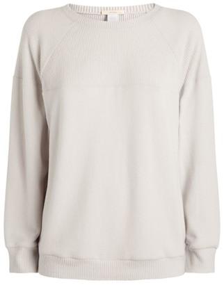 Eberjey Ribbed Sweatshirt