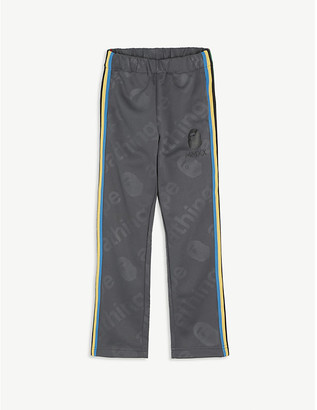 A Bathing Ape Striped woven jogging bottoms 6-8 years