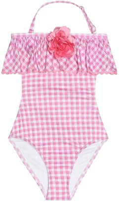 MonnaLisa Gingham swimsuit