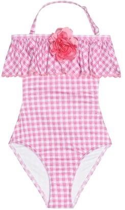 MonnaLisa Gingham swimsuit
