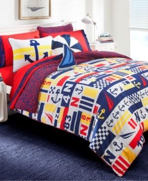 Nautica Anchor Print 2-Piece Twin Comforter Set Bedding