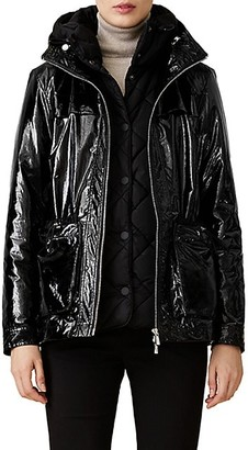 Jane Post Two-Piece Hooded Quilted Underlayer and Topper