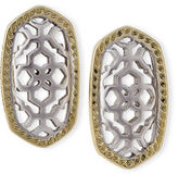 Kendra Scott Bryant Openwork Stud Earrings