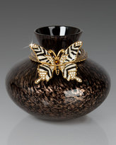 Jay Strongwater Butterfly Vase