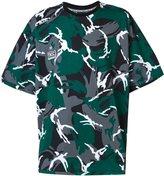 Kokon To Zai camouflage oversized T-shirt - men - Cotton - XS