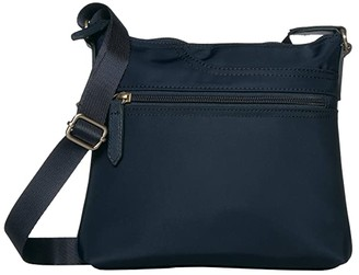 Radley London Pocket Essentials - Small Zip Top Crossbody (Ink) Handbags