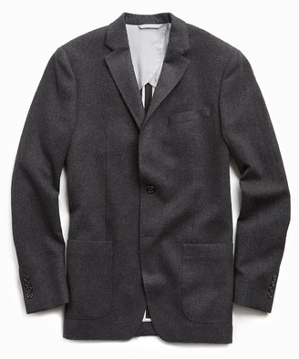 Todd Snyder Sutton Wool Donegal Sport Coat in Charcoal