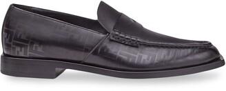 Fendi FF motif loafers