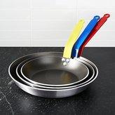 Crate & Barrel de Buyer ® Nonstick Fry Pans with Colored Handles