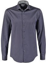 Ck Calvin Klein Rome Fitted Formal Shirt Charcoal