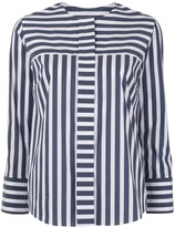 TOMORROWLAND striped poplin shirt