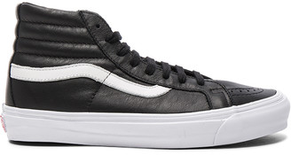 Vans OG Leather SK8-HI LX in Black | FWRD