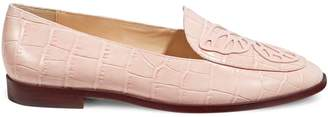 Sophia Webster Women's Butterfly Leather Loafers