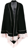Antonia Zander contrast cardi-coat - women - Cashmere - One Size