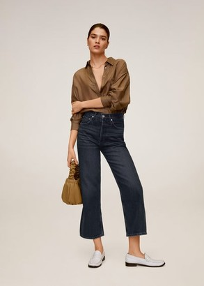 MANGO Jeans straight high waist