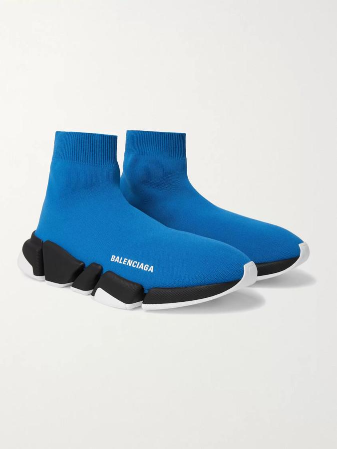 Balenciaga Blue Men's Sneakers   Shop