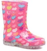 BeOnly Kids's Be Only Loveme Wellies Boots in Pink