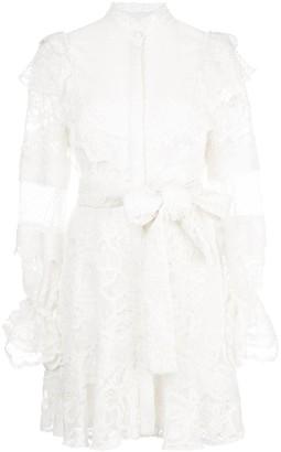 Alexis Shanna lace shirt dress