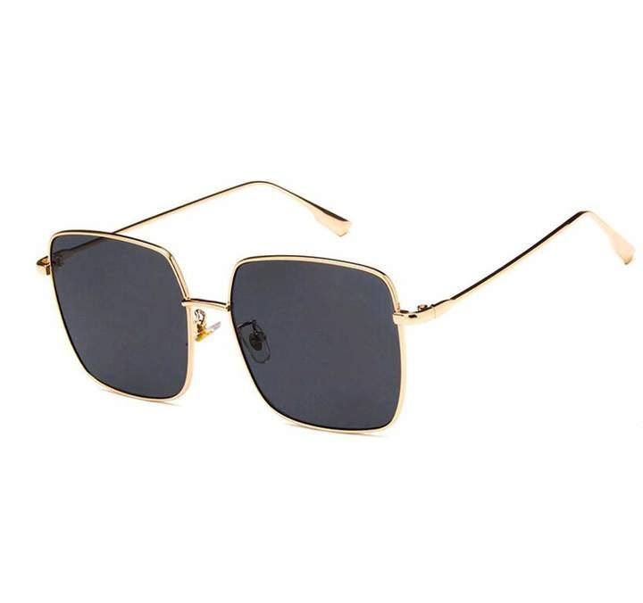 5fdcf1603477c Oversize Black Gold Sunglasses - ShopStyle Canada