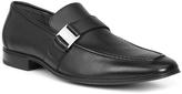 Giorgio Brutini Black Santos Leather Loafer