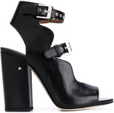 Laurence Dacade ankle length sandals - women - Calf Leather/Leather - 36