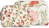 Kate Spade Cameron Street Blossom Briley Cosmetic Bag Set