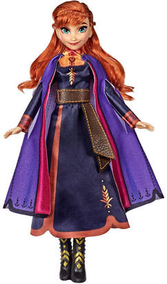 Disney Frozen Singing Anna Fashion Doll with Music Wearing a Purple Dress Inspired by Disney Frozen 2 Movie