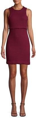 LIKELY Palmira Sleeveless Tweed Sheath Dress