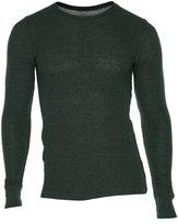 Alfani Men's Thermal Knit Waffle Crew Neck Shirt-XXL