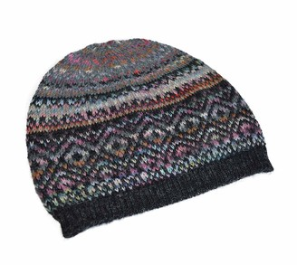 Invisible World Women's Alpaca Cap Inkasign Space Dyed Hat Abancay